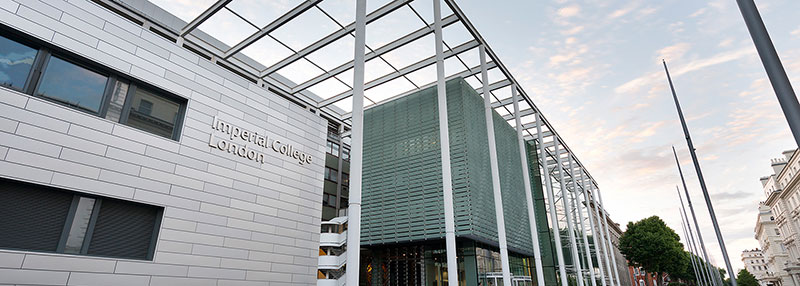 View of Imperial College's main entrance in South Kensington