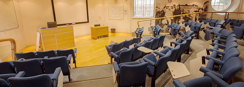 Roger Bannister lecture theatre at Imperial College's St Mary's campus