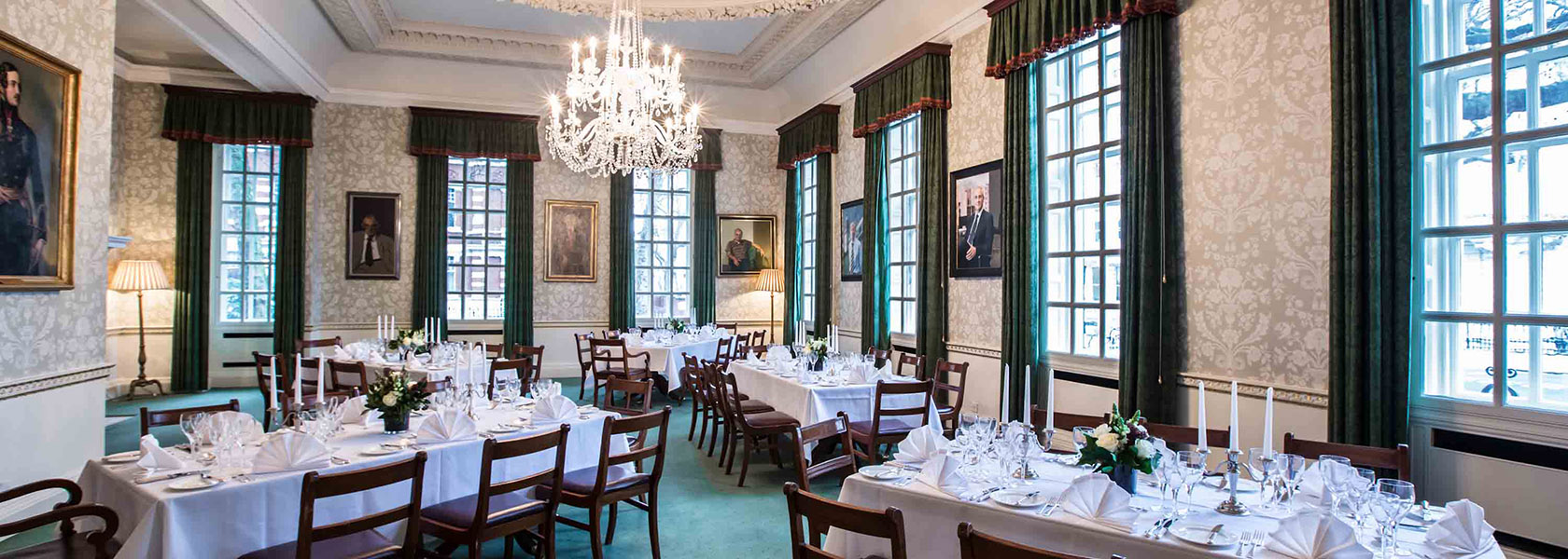 The Council Room at 170 Queen's Gate in South Kensington