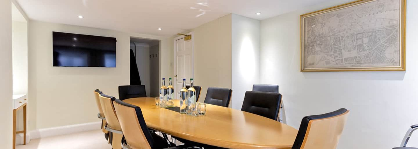 Meeting room in 170 Queens Gate.