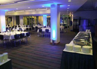 Dinner event at the Sherfield Building in London