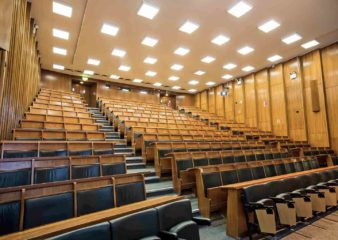 Lecture theatre for hire in the Blackett Building