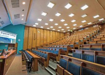Blackett Building lecture theatre side view