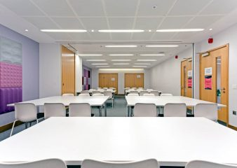 H-bar meeting rooms for corporate hire in the Sherfield Building