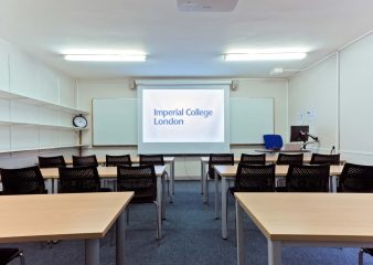 Classroom space in the Huxley Building
