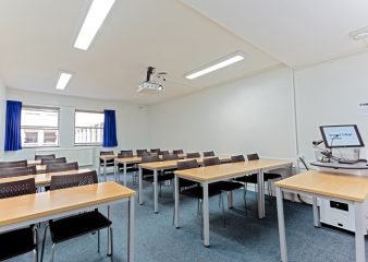Training rooms for corporate hire in the Huxley Building