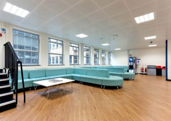 Foyer space in the Huxley Building