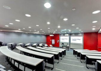 Imperial Business School lecture theatre for hire in South Kensington