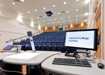 Large auditorium perfect for corporate training and and events