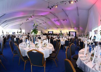 Marquee private dinner event in London organised by Imperial Venues