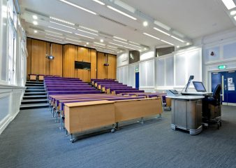 Royal School of Mines lecture theatre in South Kensington