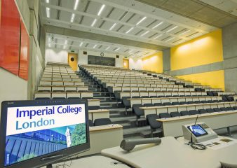Large auditorium for hire at the Sir Alexander Fleming Building in London