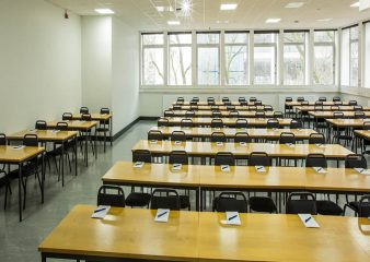 Large classroom for hire in the Skempton building