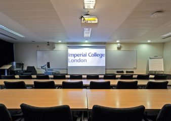 Small presentation room for hire in Sherfield Building