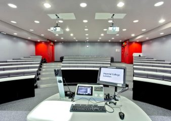 State of the art lecture theatre for hire in Imperial Business School