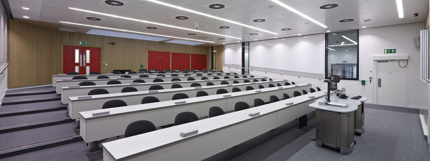 Lecture theatre in the ACE Extension Building