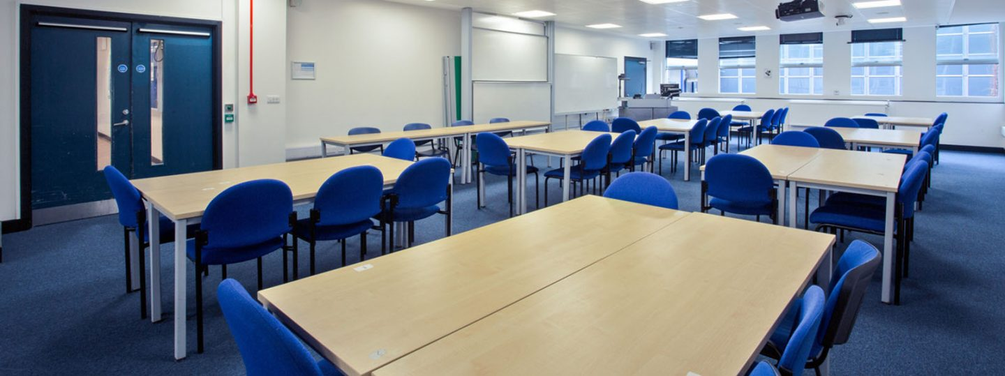 Classroom 341 in Imperial's Huxley Building