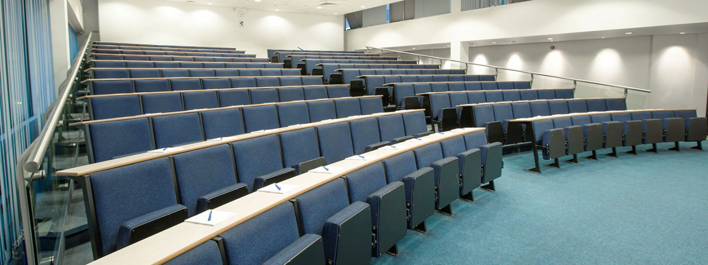 Lecture theatre in Imperial's Huxley Building