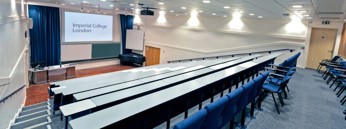 Read Lecture Theatre in Imperial's Sherfield Building