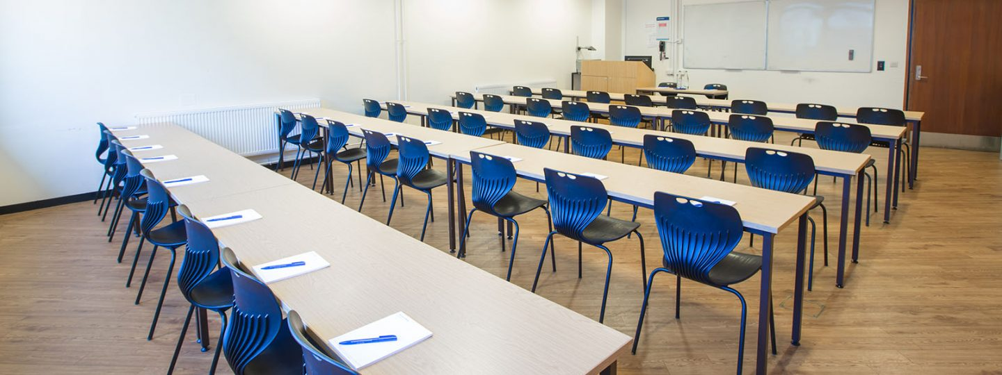 Classroom in the Electrical Engineering Building