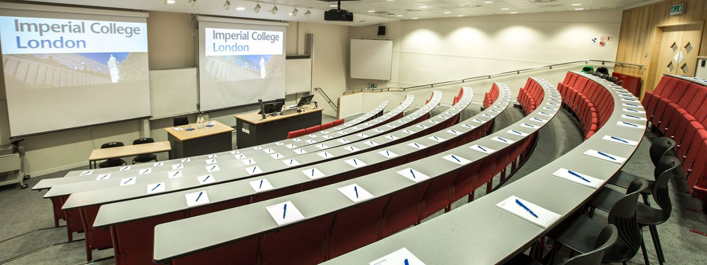 Lecture theatre in the Electrical Engineering Building