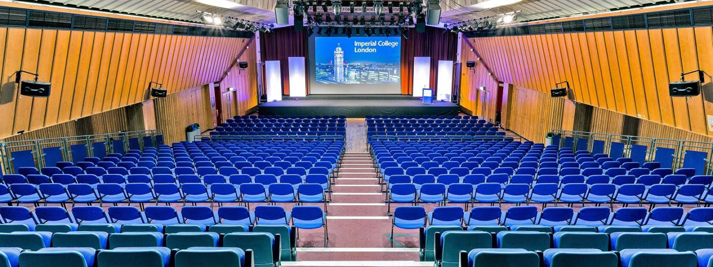 The Great Hall lecture theatre at Imperial College