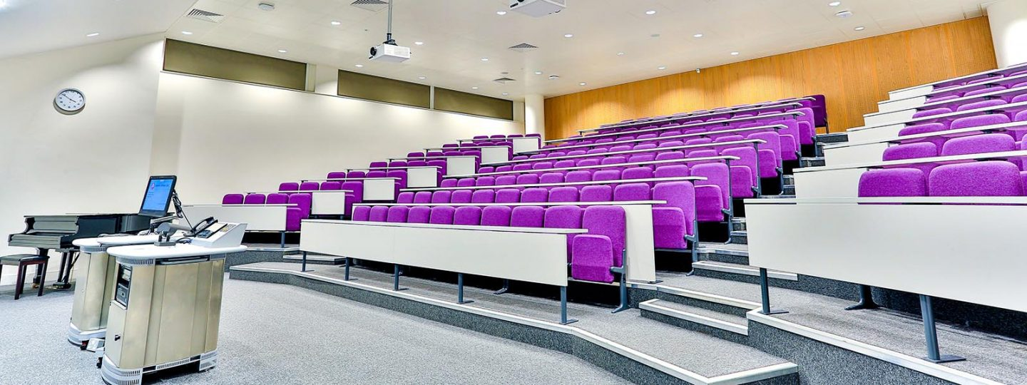 Lecture theatre 300 in the City and Guilds Building