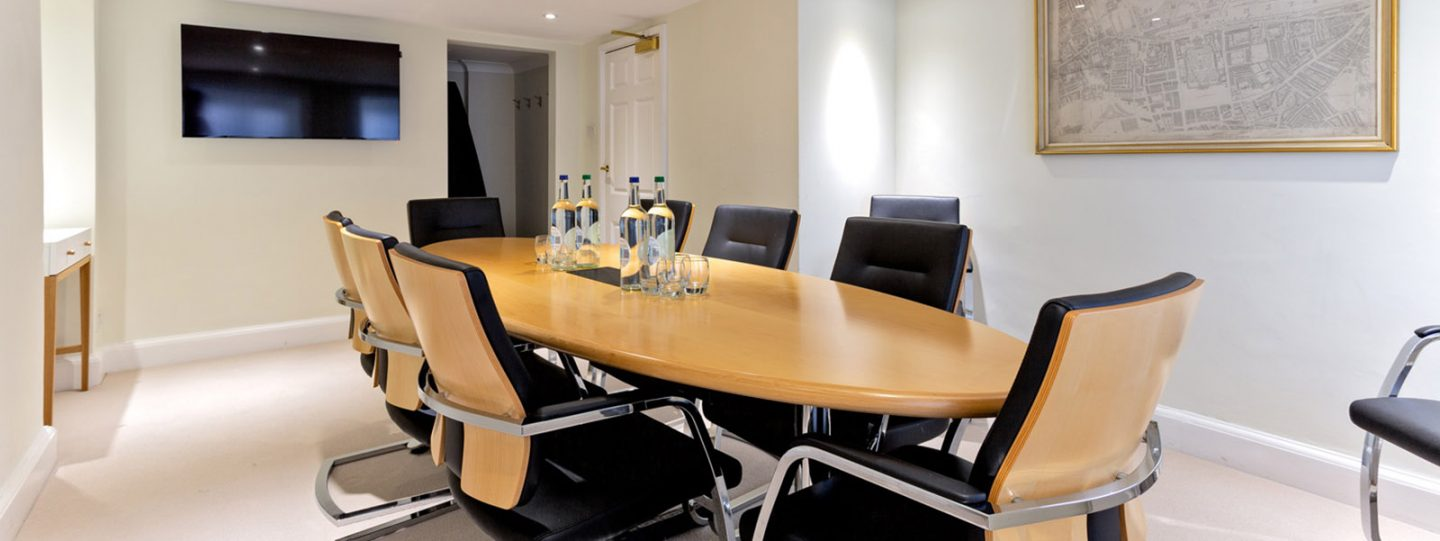 Meeting room at 170 Queen's Gate