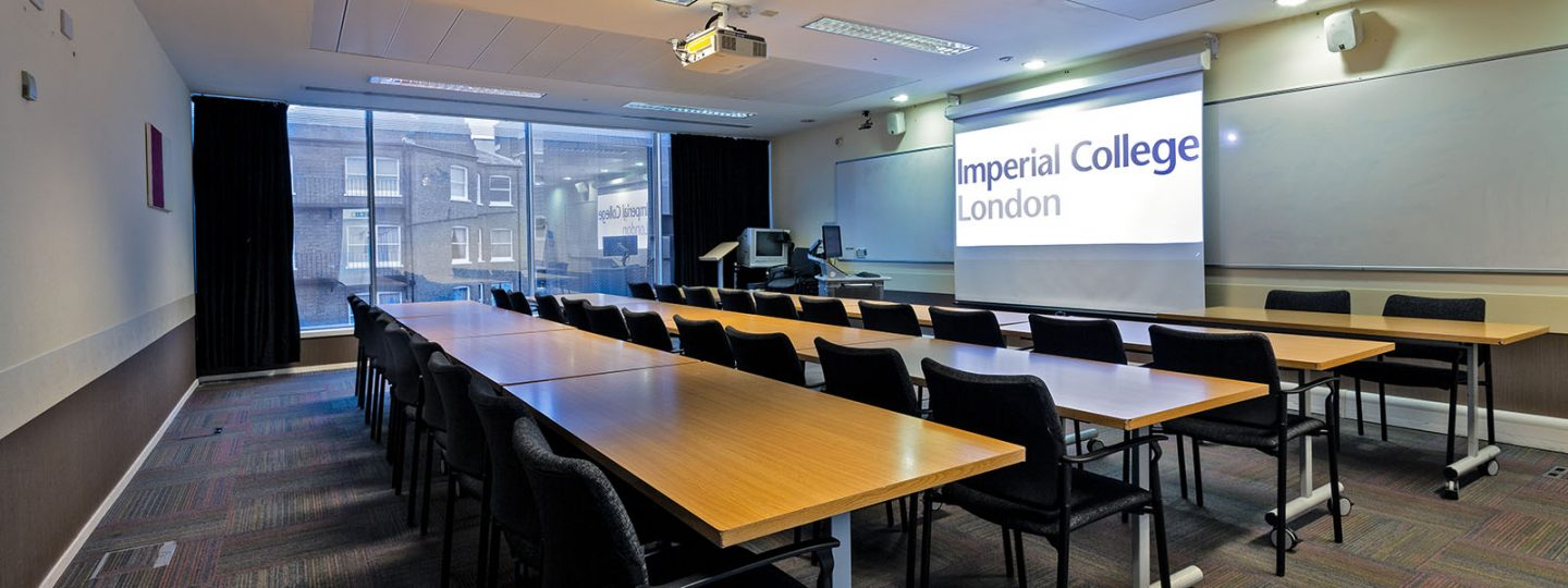 Seminar and Learning Centre classroom in Imperial's Sherfield Building