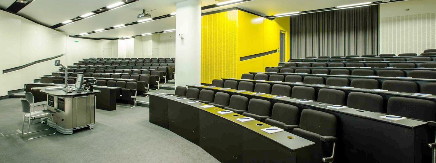 Lecture theatre 164 in Imperial's Skempton Building
