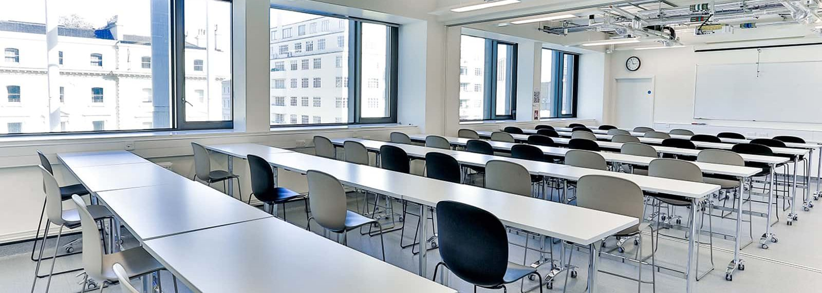 Seminar room in city and guilds building in south kensington